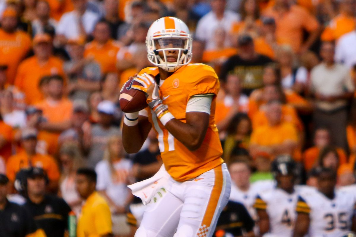 NCAA Football: Appalachian State at Tennessee