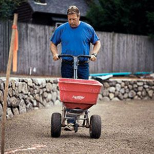 Roger Cook With Rototiller