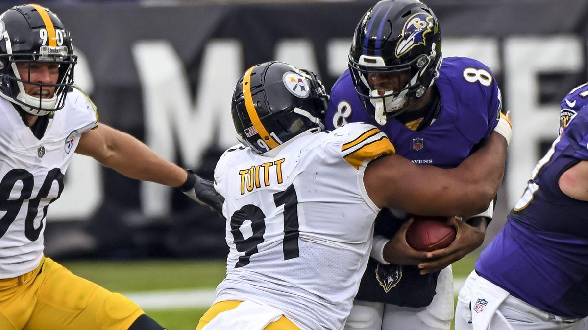 NFL: NOV 01 Steelers at Ravens