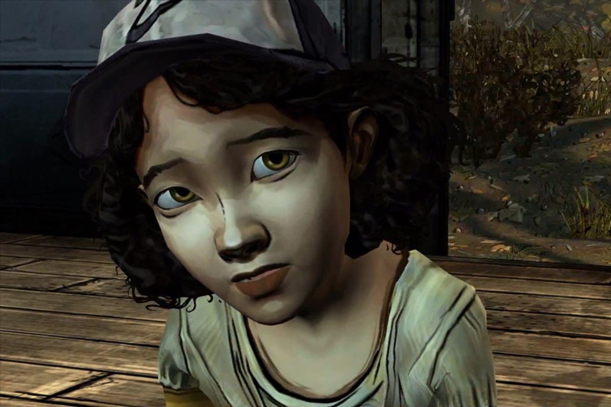 The Walking Dead Clementine screencap