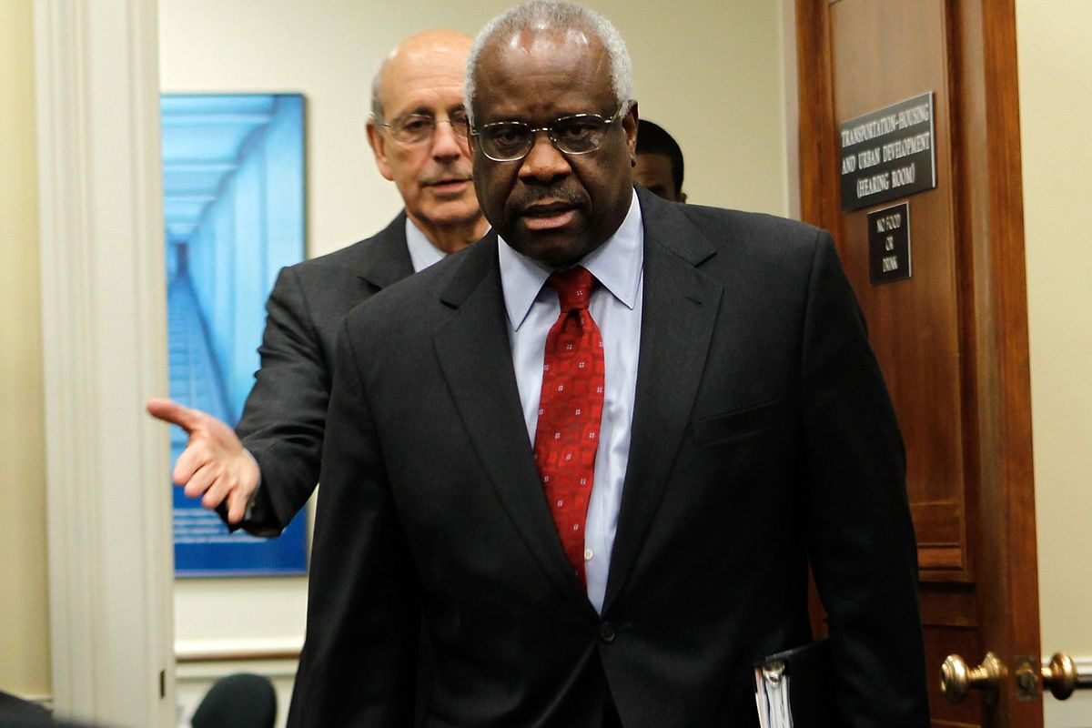 The CLS v. Alice decision was written by Justice Clarence Thomas.