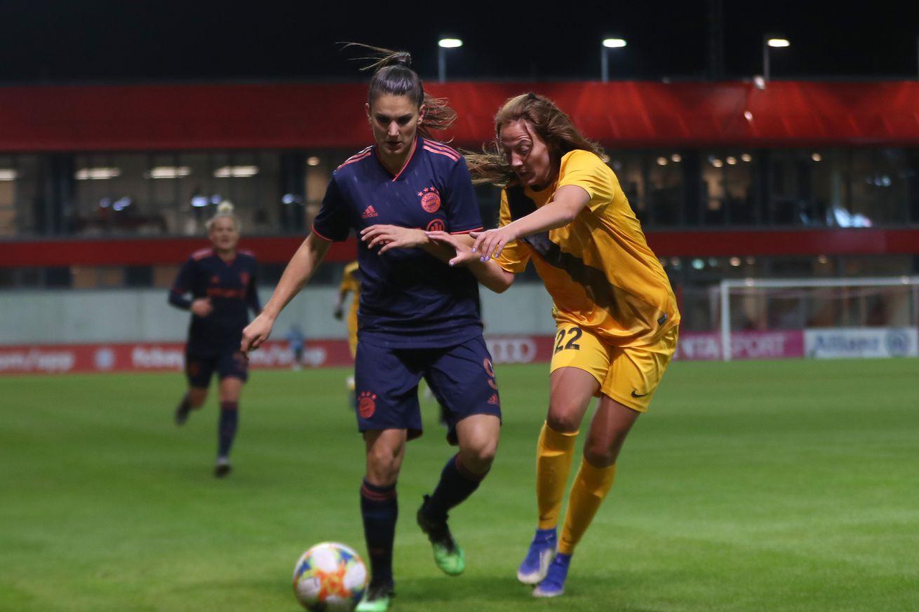 Bayern Munich top Köln, remain third in Frauen Bundesliga