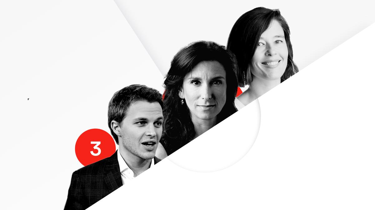 Jodi Kantor, Megan Twohey and Ronan Farrow are No. 3 on the Recode 100.