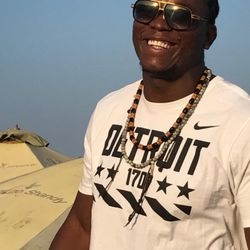 """Former BYU football players, and current Detroit Lion defensive lineman Ezekiel """"Ziggy"""" Ansah held a football camp for youth in his native Ghana last summer."""