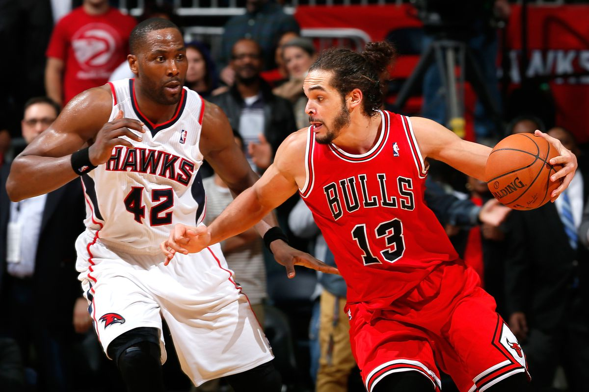Elton Brand anchors Hawks in gallant loss to Bulls Peachtree Hoops