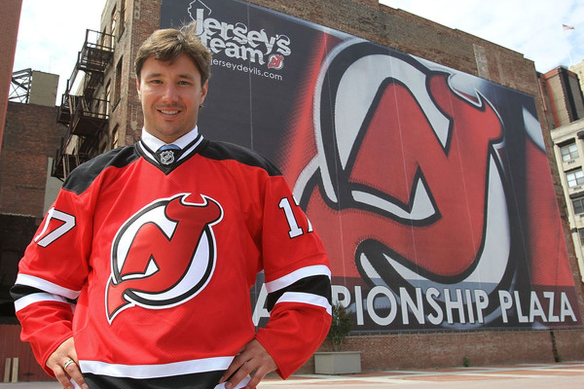 """Not so fast, the NHL has said """"No"""" to the Ilya Kovalchuk deal for some reason. (Photo by Bruce Bennett/Getty Images)"""