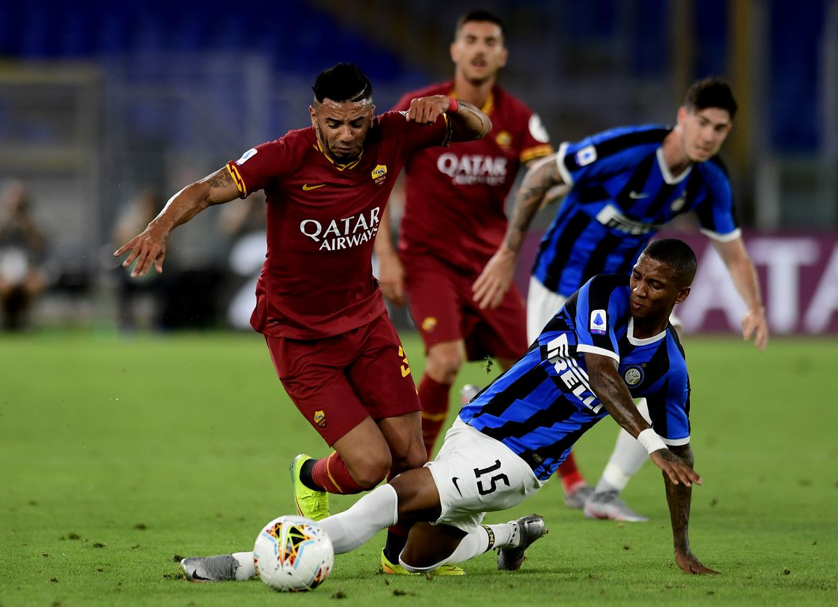 (SP)ITALY-ROME-FOOTBALL-SERIE A-ROMA VS INTER