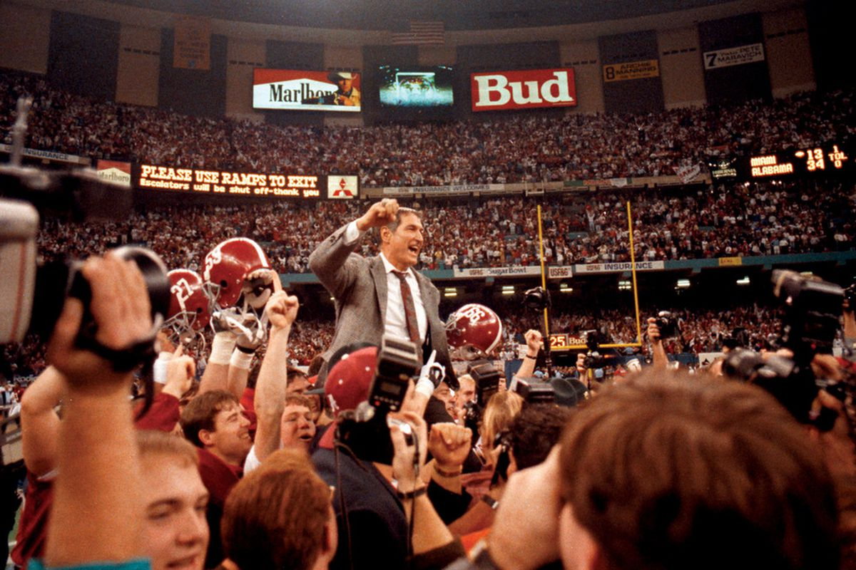 """<a href=""""http://gameday.ua.edu/2010/10/reliving-the-tradition%E2%80%A6-with-gene-stallings/"""">Source: The Crimson White</a>"""