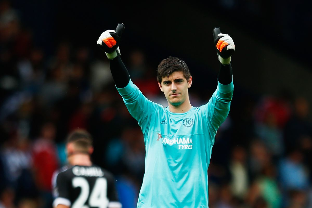 usa cheap sale great deals 2017 attractive price Thibaut Courtois is a bit obsessive about his goalkeeping ...