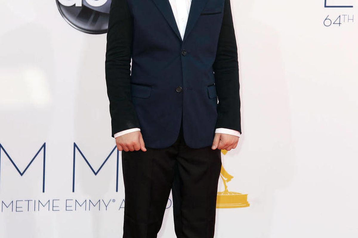 Actor Nolan Gould arrives at the 64th Primetime Emmy Awards at the Nokia Theatre on Sunday, Sept. 23, 2012, in Los Angeles.
