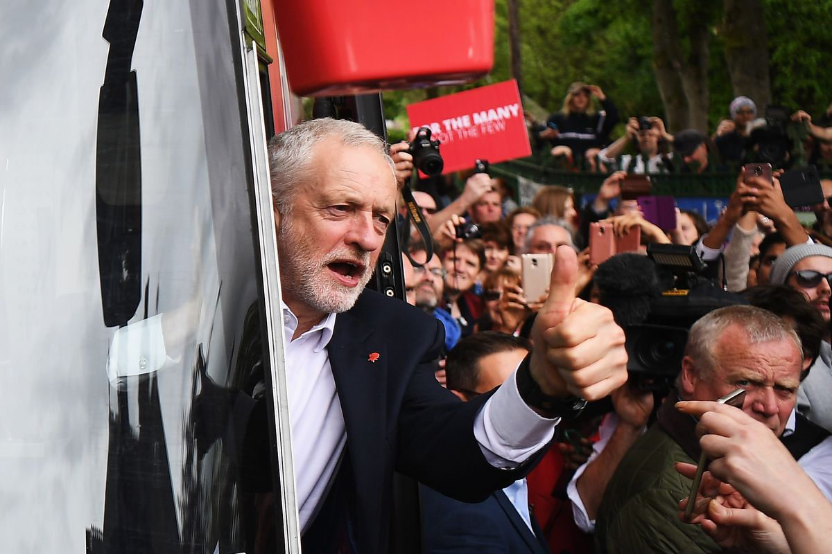 Jeremy Corbyn Launches The Labour Party Election Manifesto