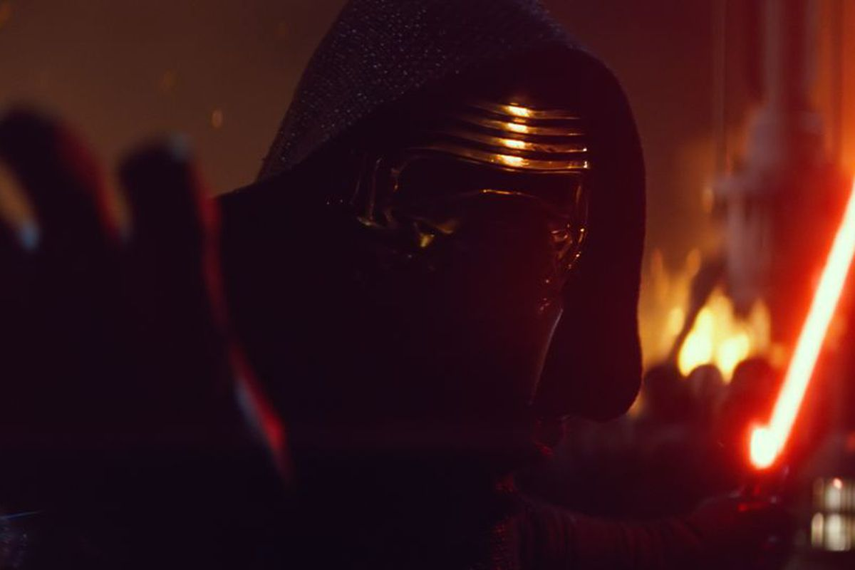 Kylo Ren is the intimidating new villain in Star Wars: The Force Awakens.