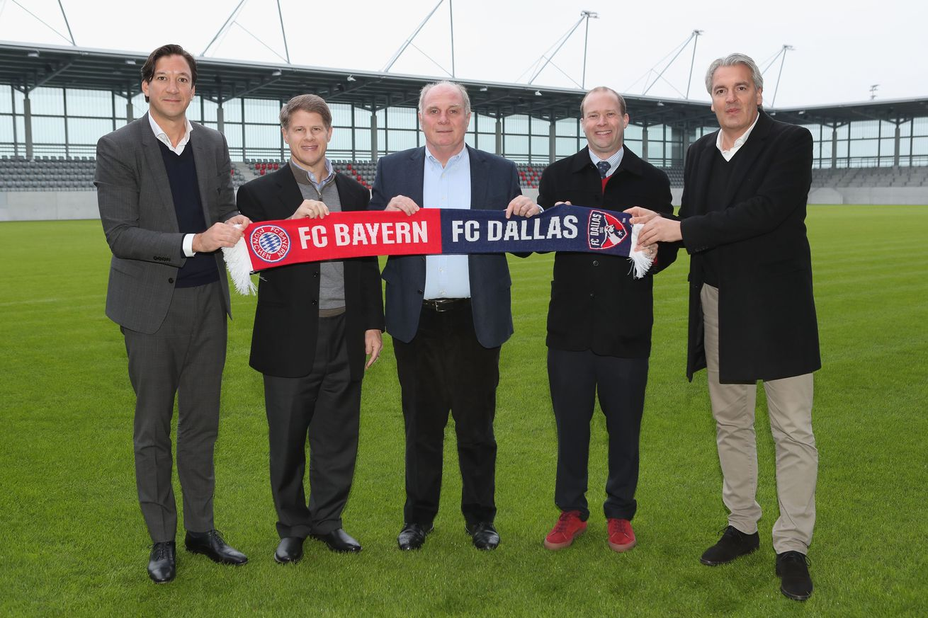 Bayern Munich partnership gives FC Dallas youth stars hope