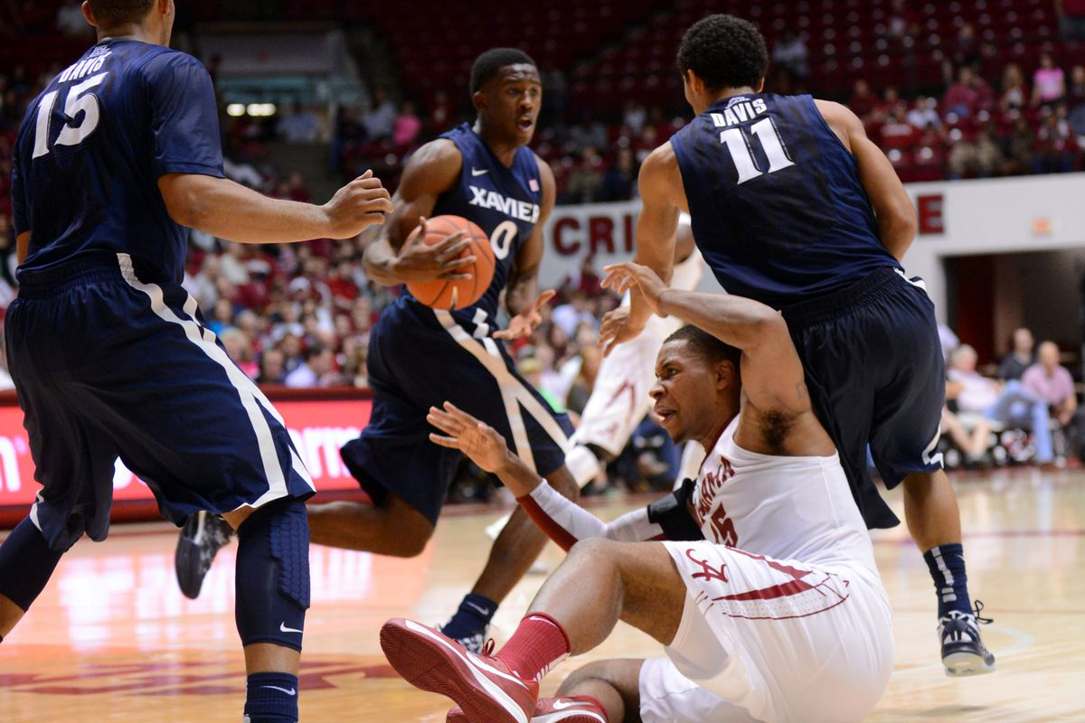 Xavier's guards played the defense, but the bigs carried the day.