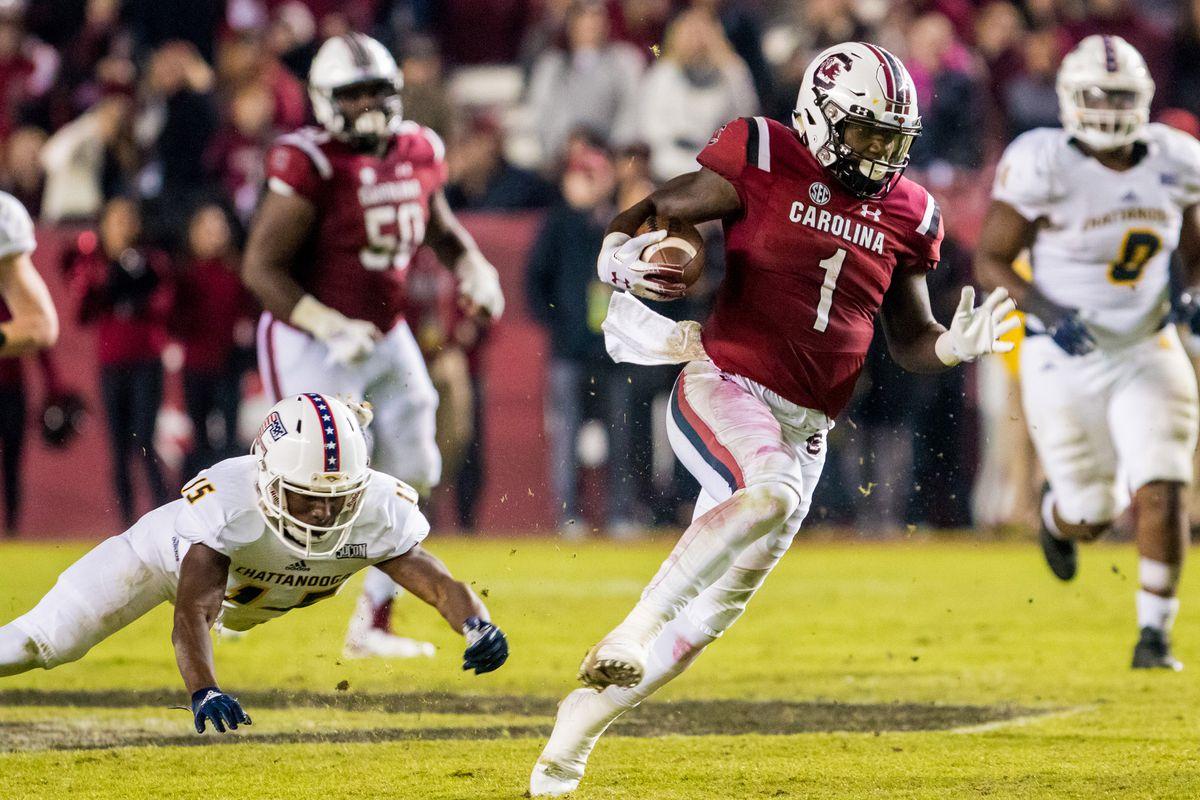NCAA Football: Chattanooga at South Carolina