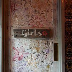 The women's bathroom.