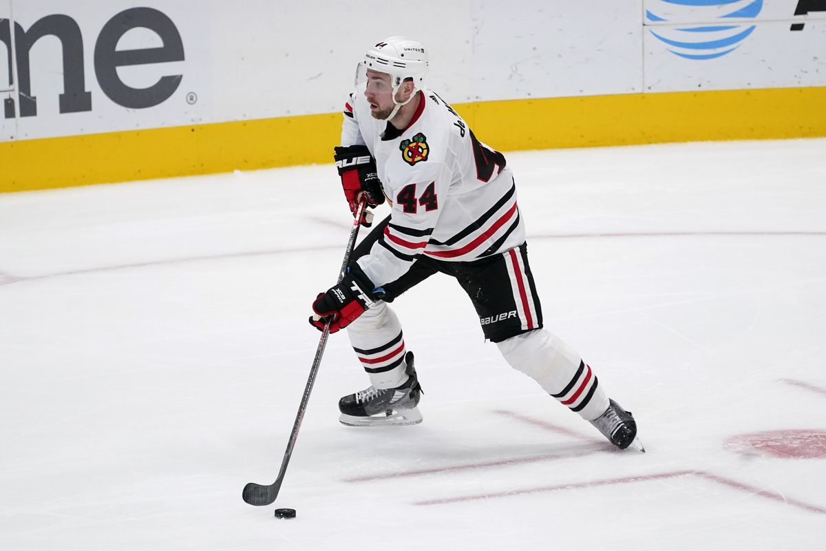 Blackhawks defenseman Calvin de Haan could be exposed in the expansion draft this summer.