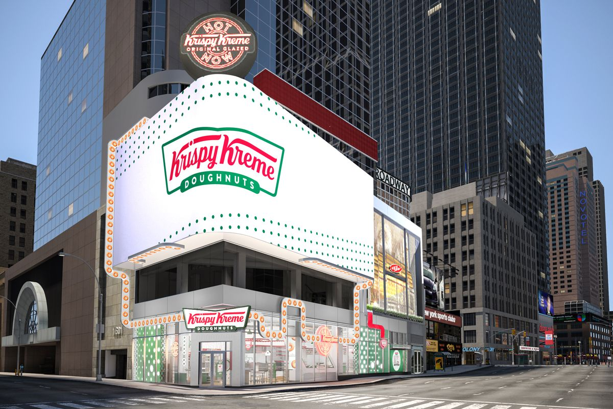 Krispy Kreme Times Square rendering