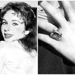 of the many many engagement rings elizabeth taylor received in her life the most - Elizabeth Taylor Wedding Ring