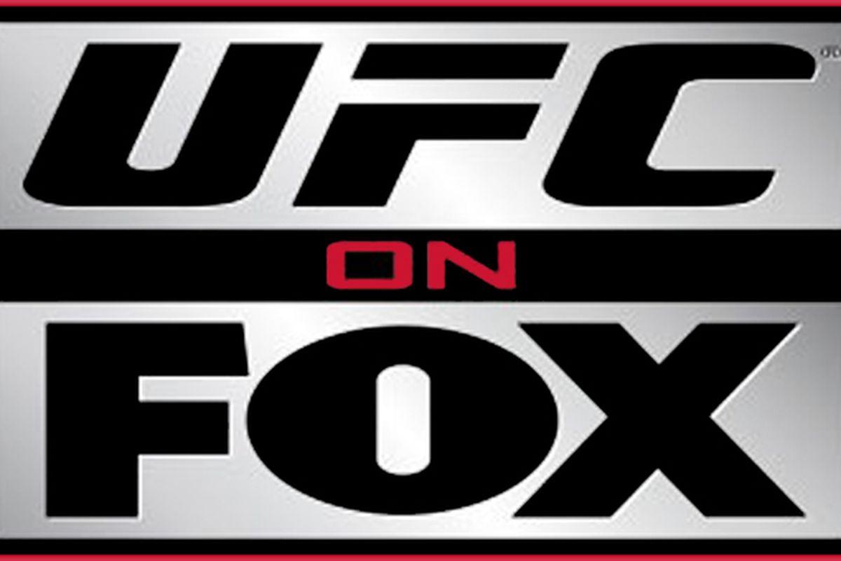 """via <a href=""""http://mmaspartan.com/wp-content/uploads/2011/08/UFC-on-Fox-big-logo.jpg"""">mmaspartan.com</a>"""