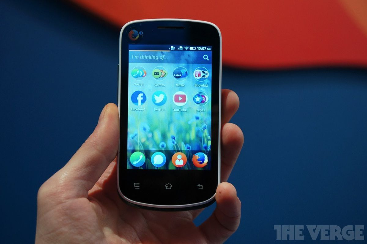 Gallery Photo: The $25 Firefox OS smartphone
