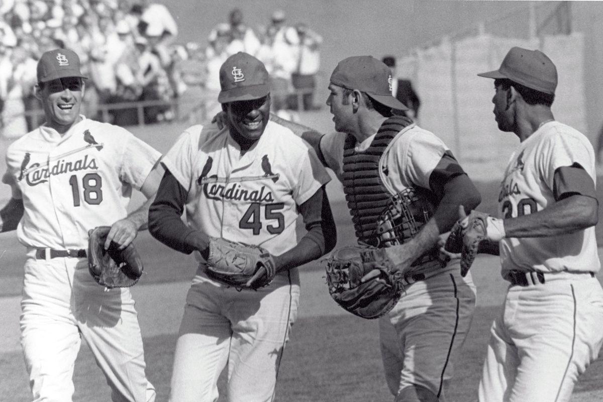 Bob Gibson Baseball Hall of Fame 1981