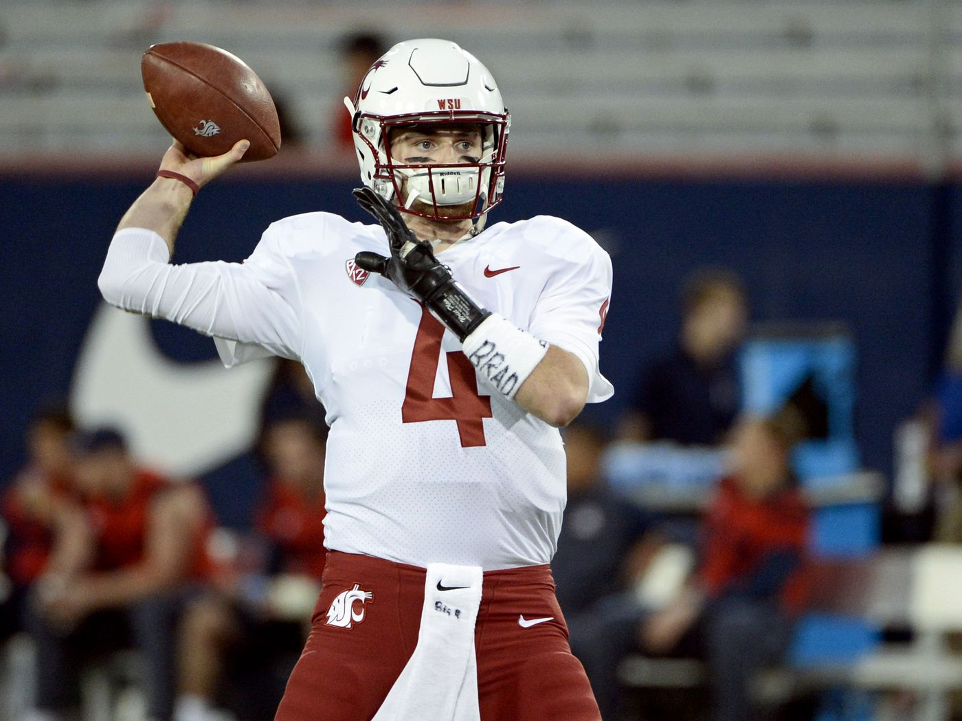 best service 7f183 dcef6 Titans draftee Luke Falk had crazy numbers in college ...
