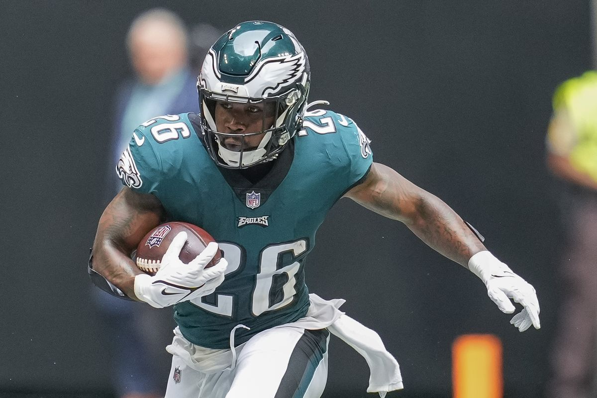 Miles Sanders injury news: Eagles RB listed as practicing in full Friday  for Week 3 MNF - DraftKings Nation