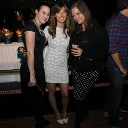 Lindsey Green, Racked LA editor Leslie Price, and longtime Racked contributor Cynthia Drescher