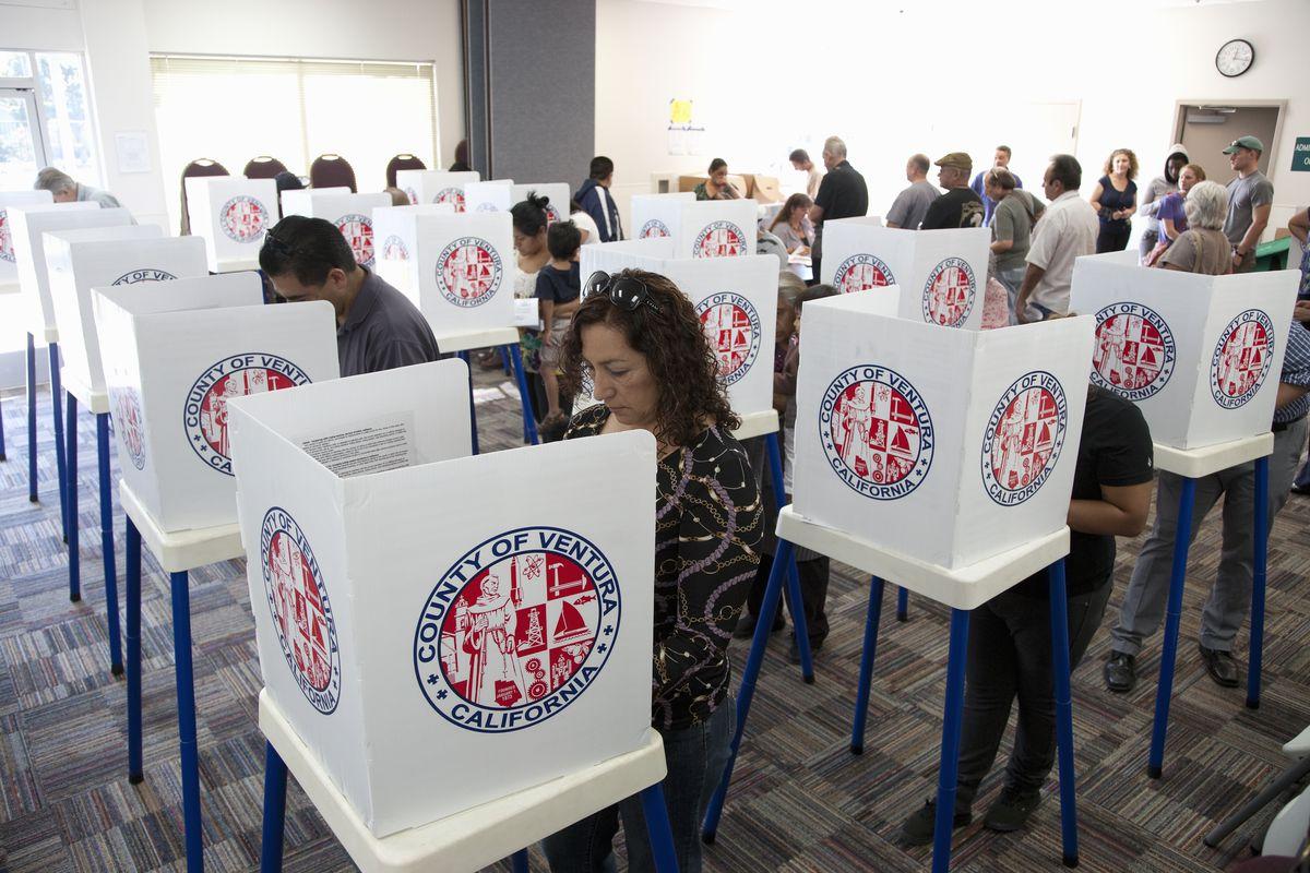 Ventura County, CA voters, 2012