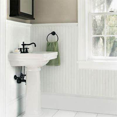 Wainscoting in Bathroom