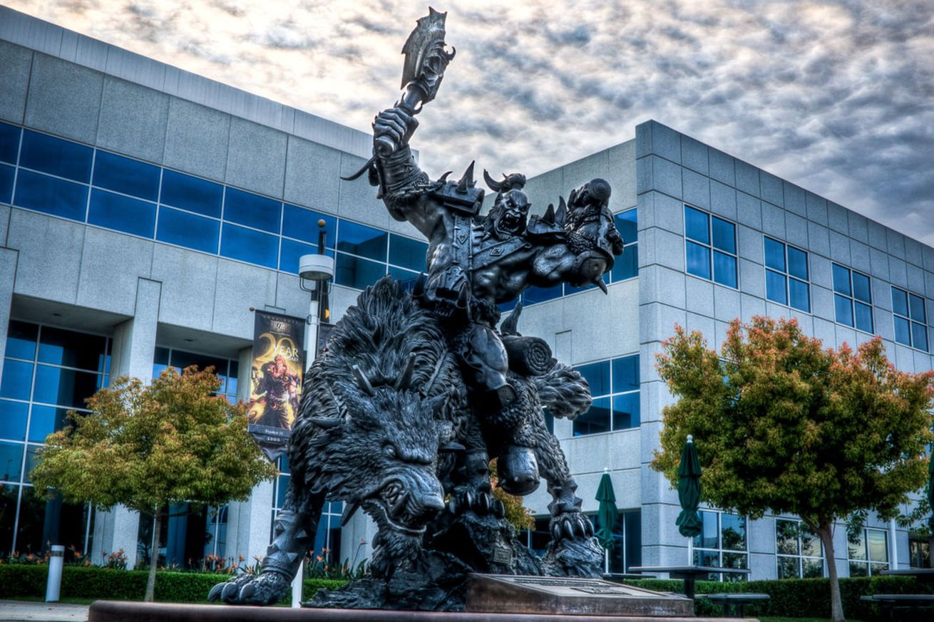 Blizzard is encouraging its own employees to attend Wednesday's walkout with paid time off