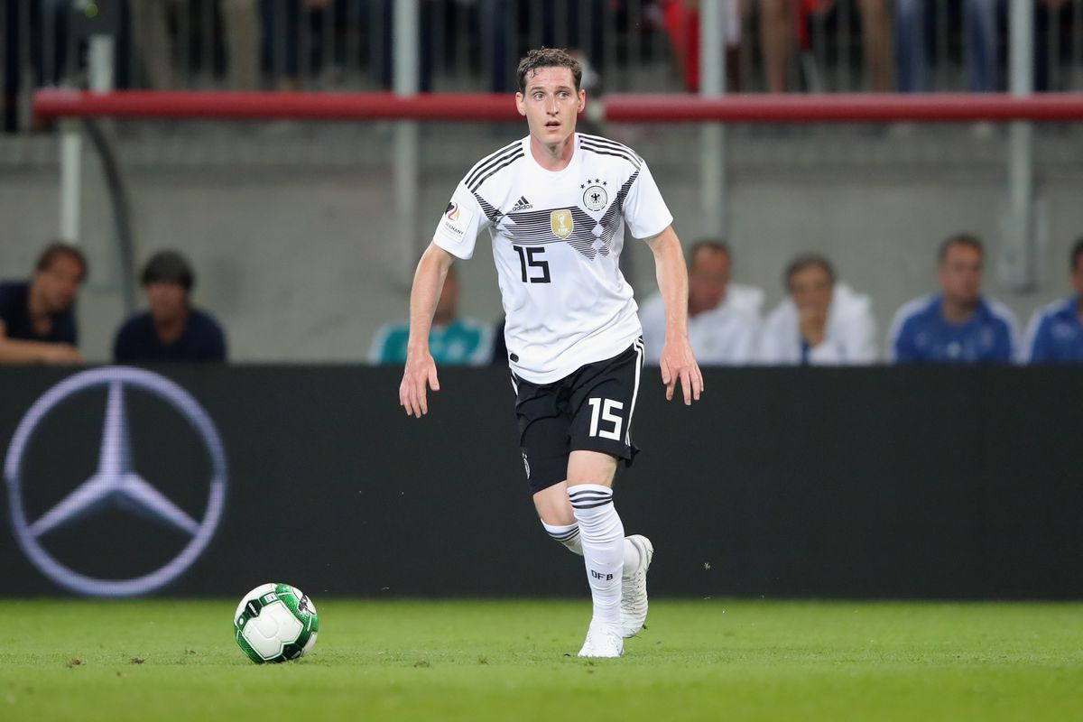 KLAGENFURT, AUSTRIA - JUNE 02: Sebastian Rudy of Germany runs with the ball during the International Friendly match between Austria and Germany at Woerthersee Stadion on June 2, 2018 in Klagenfurt, Austria.