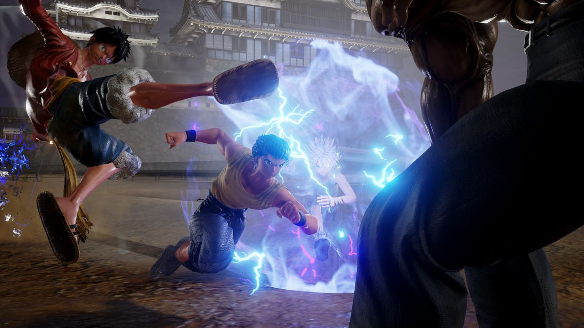 Jump Force - team attack