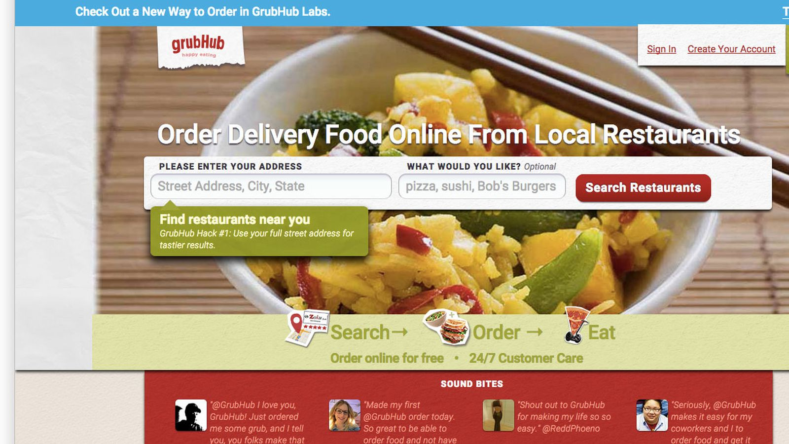 Grubhub Will Dominate The Food Delivery Market By Cutting Out The