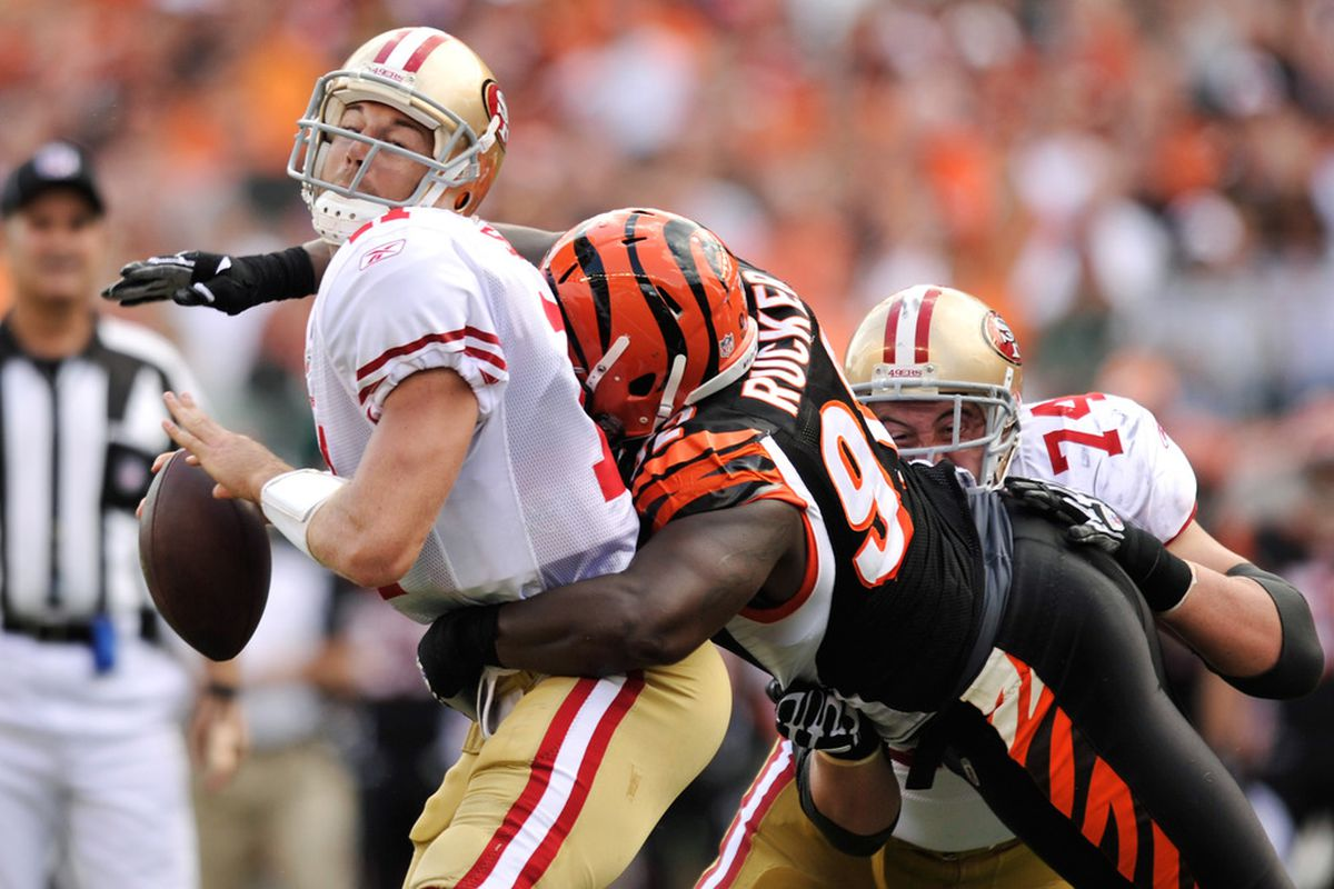 2013 NFL Free Agency: Frostee Rucker Reportedly Signs With Cardinals