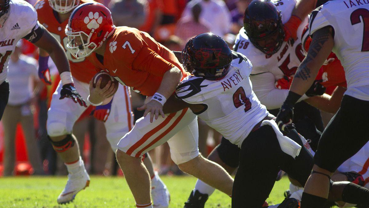 NCAA Football: Louisville at Clemson