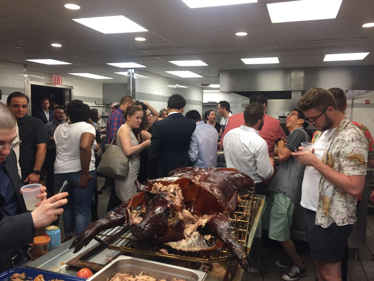 Inside Eleven Madison Park's kitchen at the closing party
