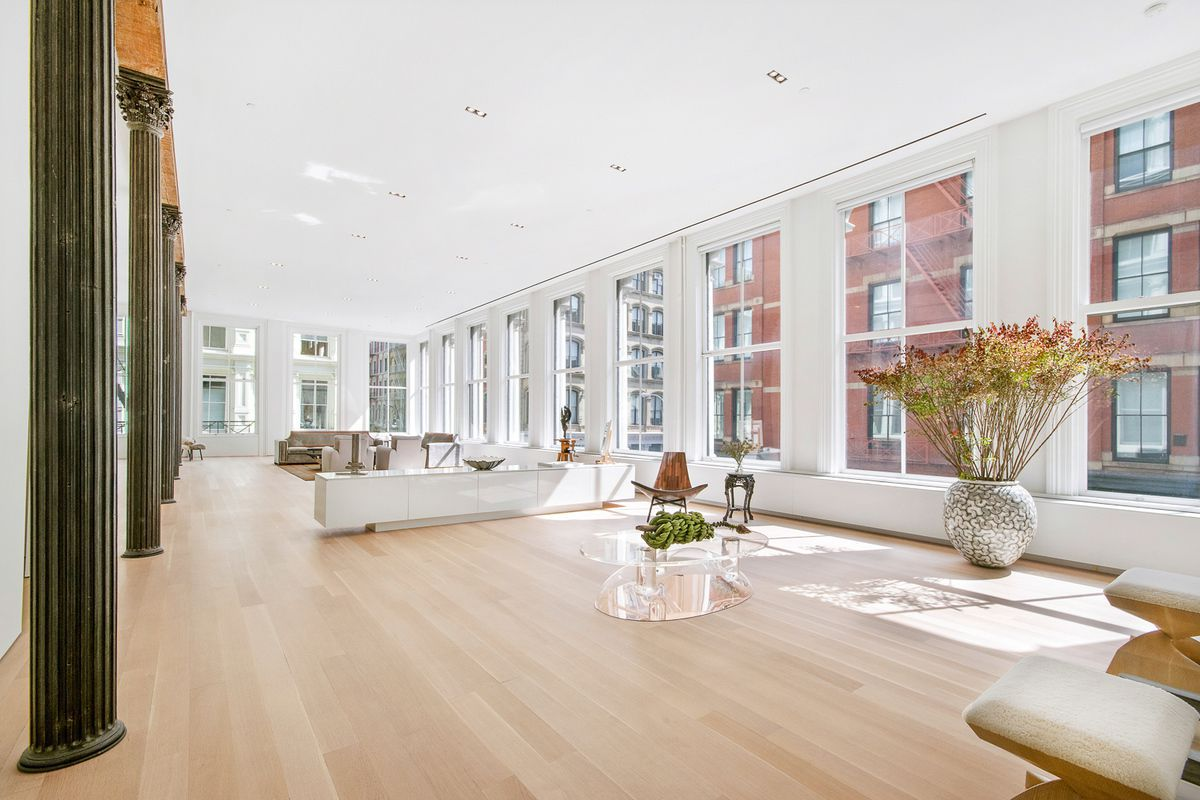 Airy Soho loft featured in \'Big\' sells for $9.75M - Curbed NY