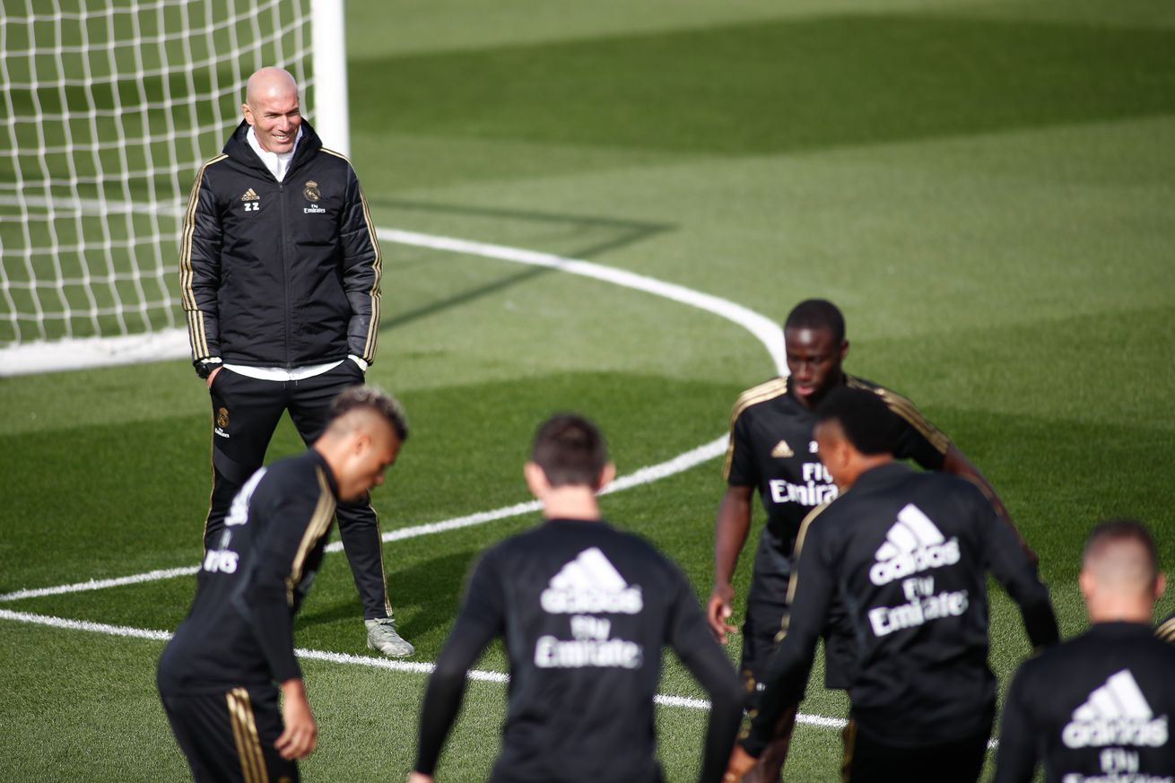 Yet another busy period ahead for Zinedine Zidane?s men