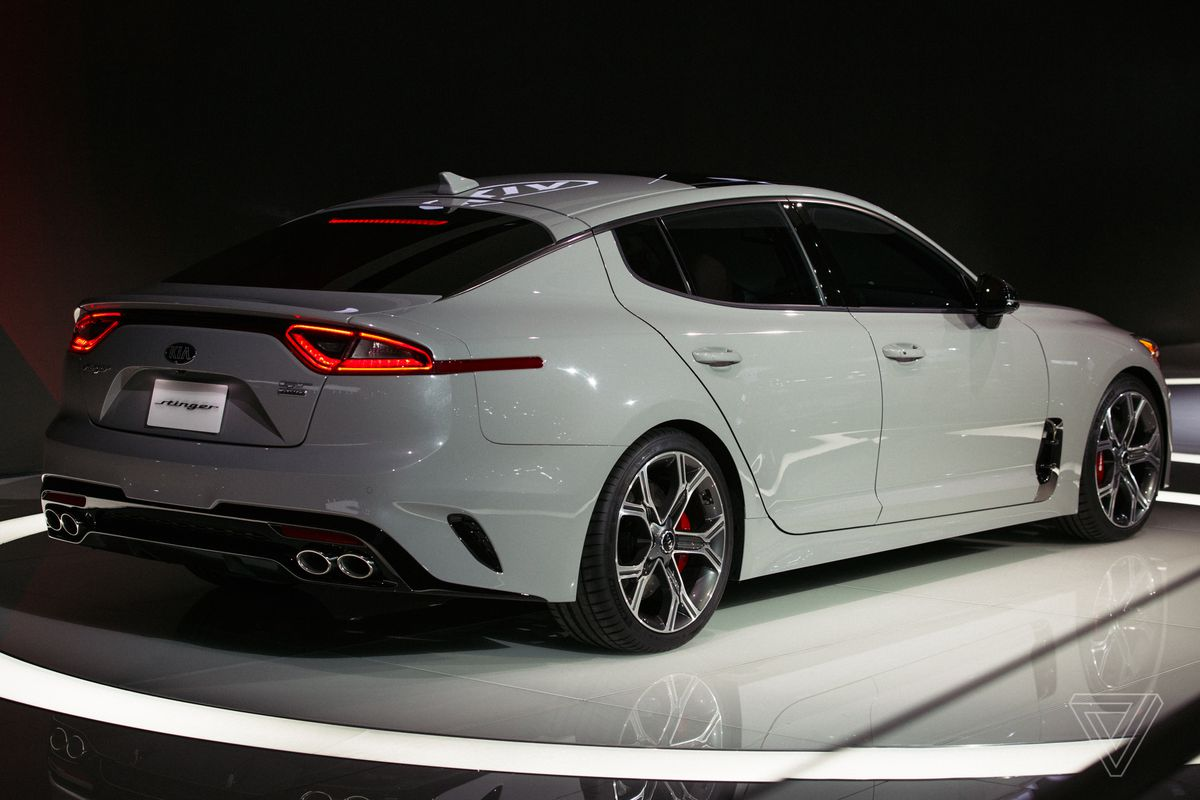 Kia Has Said For Years That It Would Build A Rear Wheel Drive Sedan And Now S Doubling Down On Its Promise The Gt4 Stinger Concept Graced Detroit