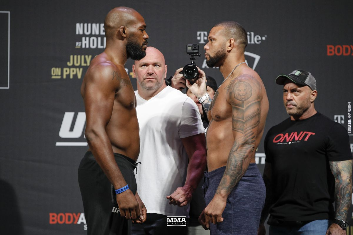 Jon Jones Vs Thiago Santos