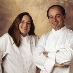 Sarah Stegner and George Bumbaris in 2007.    Clifton Henri  For the Sun-Times