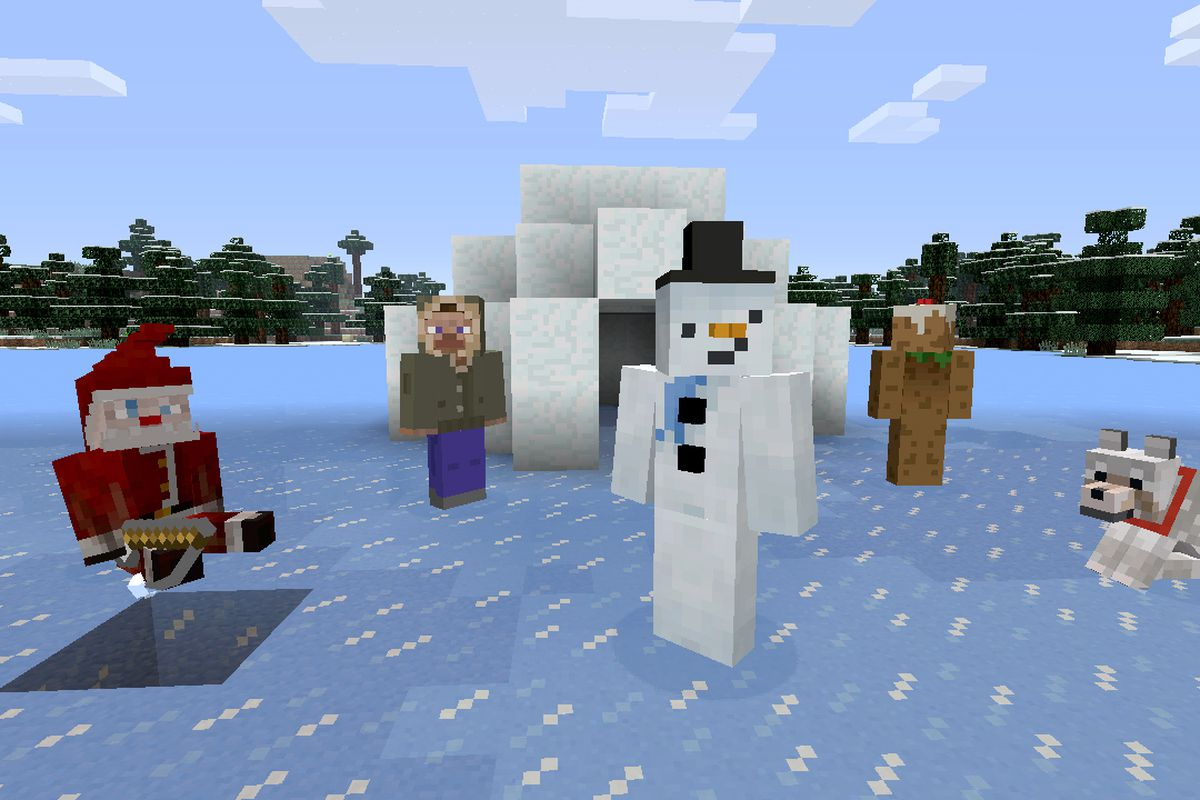 Minecraft Christmas.A Very Minecraft Christmas 453k Copies Sold Across All