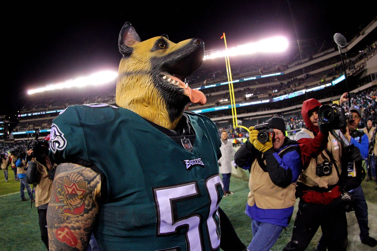 new styles 02965 37382 NFL playoffs 2018: Why are the Eagles and their fans wearing ...