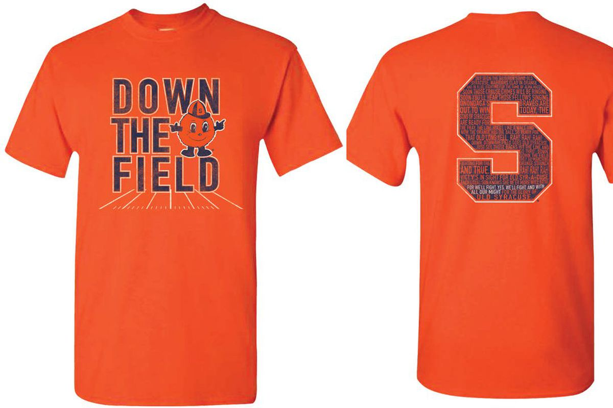 Orange Out T Shirt Design Unveiled For Syracuse Vs Pittsburgh