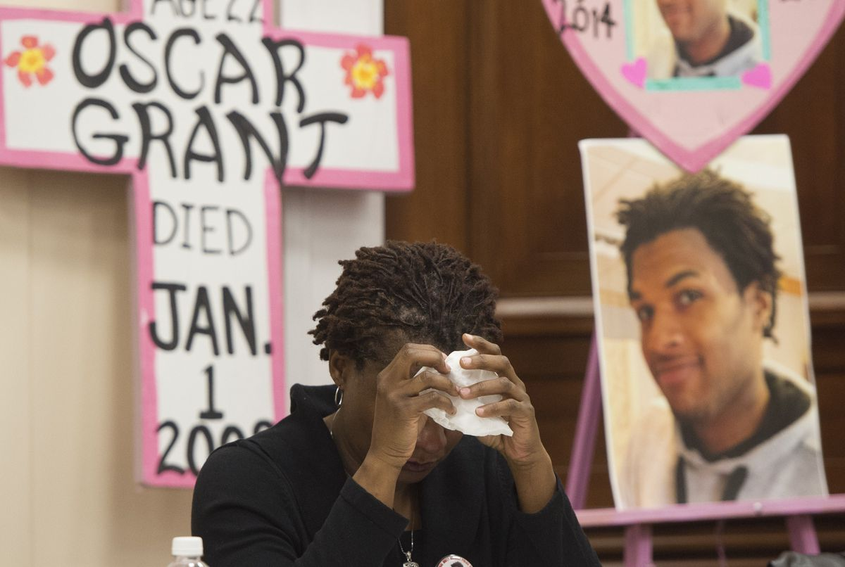 John Crawford's mom mourns her son's death.