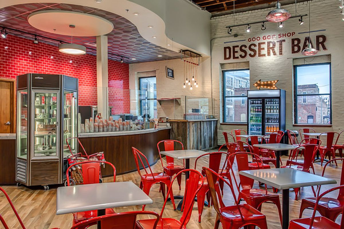 go goo goo cluster crazy at their new dessert bar now open downtown eater nashville. Black Bedroom Furniture Sets. Home Design Ideas