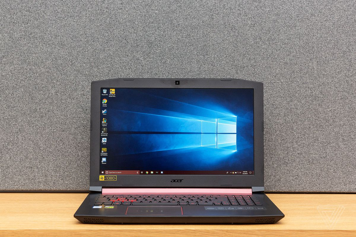 if you re sharpening your skills and eliminating foes in multiplayer games does it really matter how much eye candy you have the acer nitro 5 - acer nitro 5 fortnite