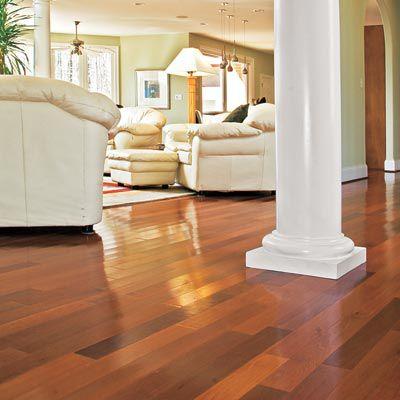 Brazilian Redwood Hardwood Floor